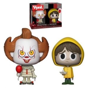 "VYNL 4"" 2-Pack: It 2017: Pennywise & Georgie"