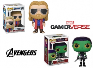 POP Marvel:  - Thor Casual and Gamora Gamerverse