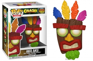 POP Games: Crash Bandicoot  -  Aku Aku