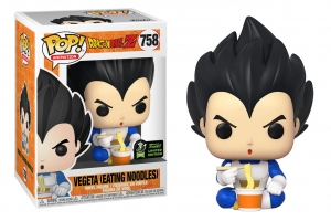 POP Animation: DBZ - Vegeta Eating Noodles