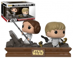 Funko POP! Star Wars Movie Moments: Trash Compactor Escape