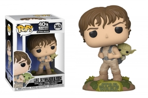 POP Vinyl: Star Wars - Training Luke with Yoda