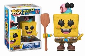 POP Animation: The SpongeBob Movie: Sponge on the Run - Spongebob with Gary