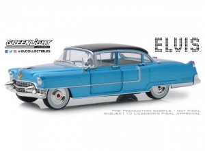 Elvis Presley: 1955 Cadillac Fleetwood Series 60 1:24 Blue