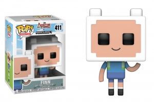 Pop! Television: Adventure Time Minecraft - Finn