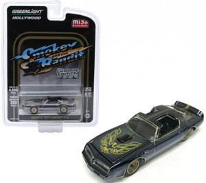 Smokey and the Bandit: Pontiac 1:64 Chrome-Black