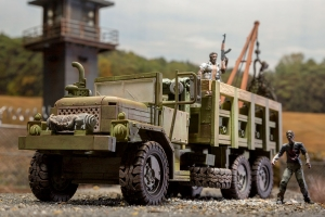 Woodbury Assault Vehicle The Walking Dead Building Set