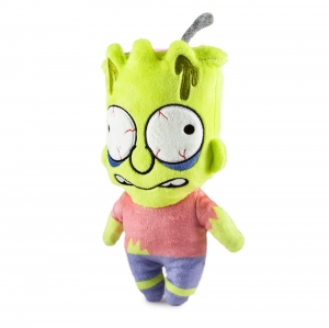 Simpsons Bart Phunny Plush Zombie
