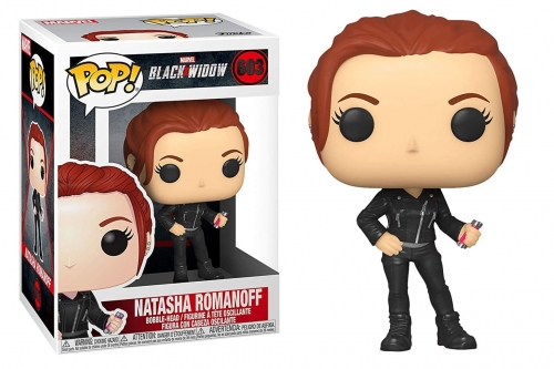 POP Marvel: Black Widow- Natasha Romanoff