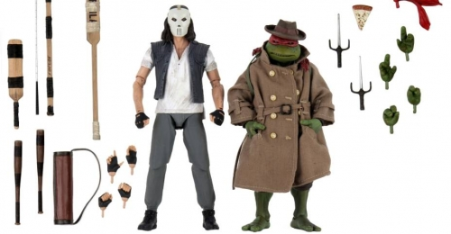 TMNT: 1990 Movie - Casey Jones and Raphael in Disguise 7 inch Action figure