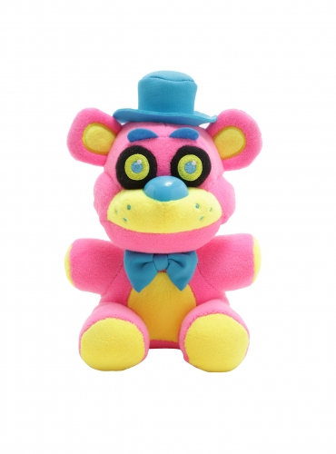 Five Nights at Freddy's: Plush – Freddy Blacklight (Pink)