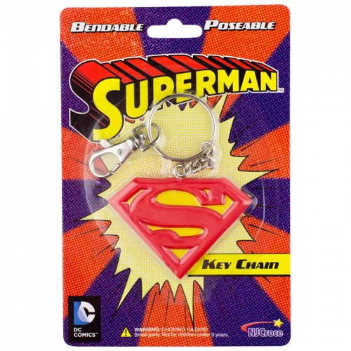 Brelok Superman logo Bandable Key Chain