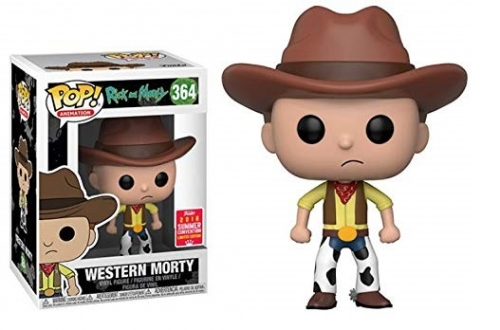 Pop! Animation: Rick and Morty - Western Morty Summer Convention exclusive