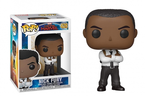 Pop Marvel: Captain Marvel - Nick Fury
