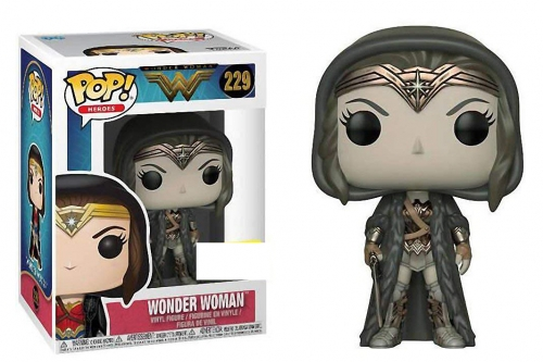 Pop! Heroes: DC - Wonder Woman cloak sepia exclusive